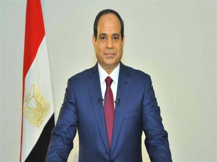 الرئيس السيسي يوفد مندوبا للتعزية في وفاة المستشار أحمد عبدالقوي غنيم