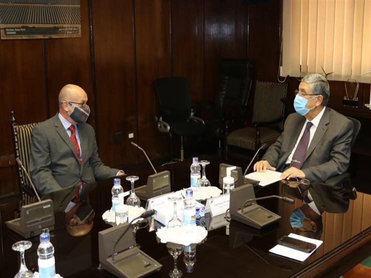 لمتابعة تطورات الربط الكهربائي.. وزير الكهرباء يلتقي سفير قبرص الجديد بالقاهرة