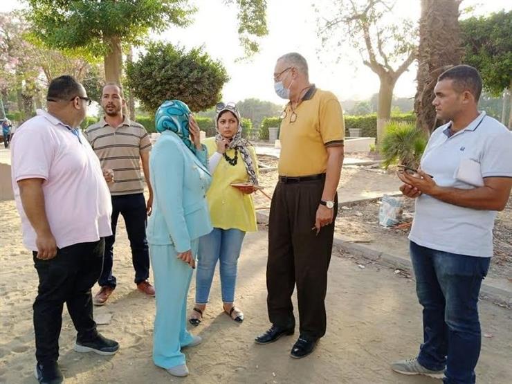 نائبة المنطقة الجنوبية بالقاهرة تتفقد أعمال تطوير كوبري المانسترلي