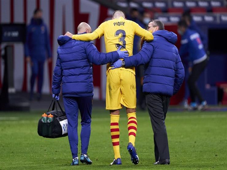 رسميًا.. برشلونة يعلن حجم إصابة روبيرتو وبيكيه