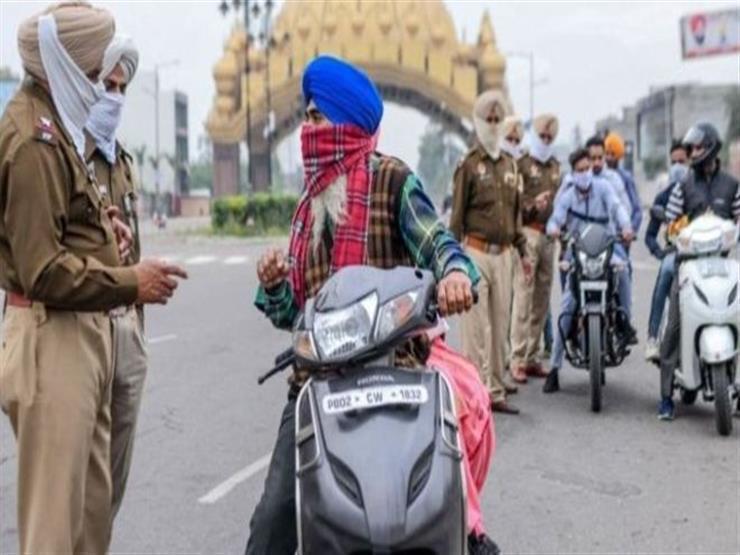 الهند تسجل 45 ألفا و 209 حالات إصابة جديدة بفيروس كورونا