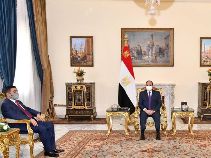 خاصة العسكرية.. السيسي يؤكد حرص مصر على التعاون مع العراق في جميع المجالات