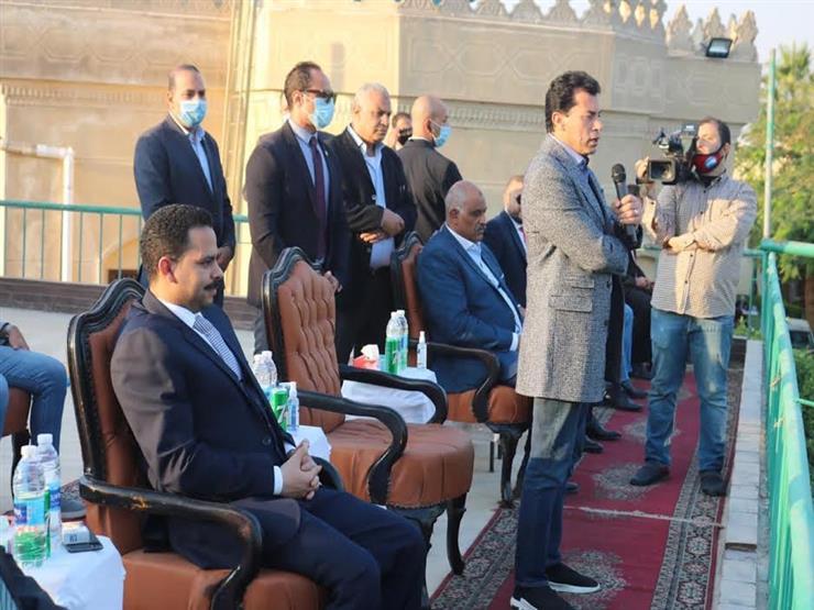 افتتاح ملاعب نادي مستقبل وطن بحضور وزير الرياضة (صور)
