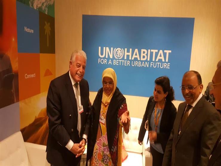 محافظ جنوب سيناء يلتقي الرئيس التنفيذي لبرنامج الأمم المتحدة للمستوطنات