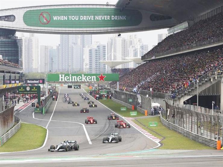 رسميًا.. تأجيل سباق فورمولا-1 في الصين بسبب فيروس كورونا