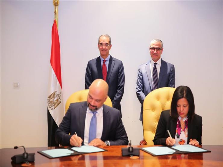 وزير الاتصالات يشهد توقيع بروتوكول تعاون لتمكين ذوي الاحتياجات الخاصة