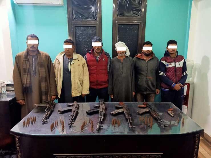 حبس 6 متهمين في واقعة مقتل ربة منزل بأسيوط