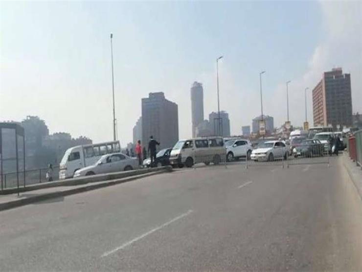 المرور: غلق مطلع كوبرى 15 مايو جزئيا لمدة 5 ساعات