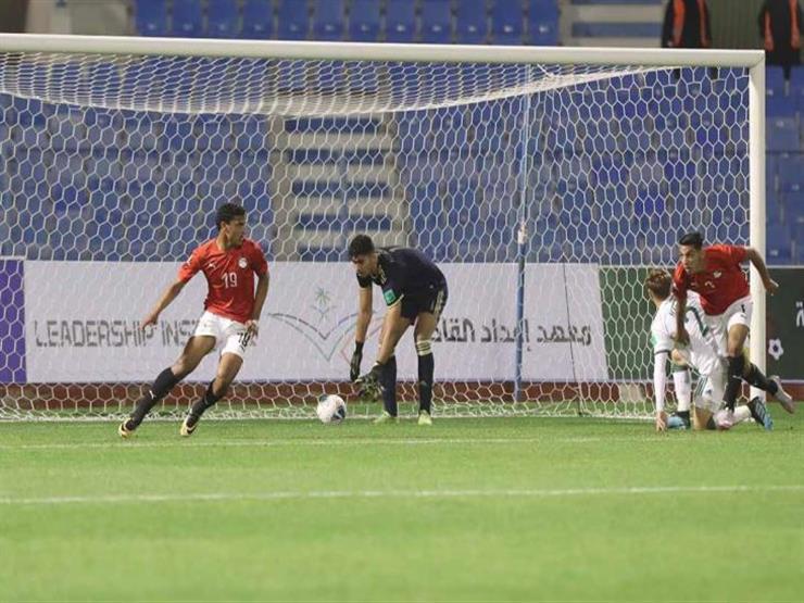 منتخب مصر للشباب يمطر شباك الجزائر برباعية في كأس العرب