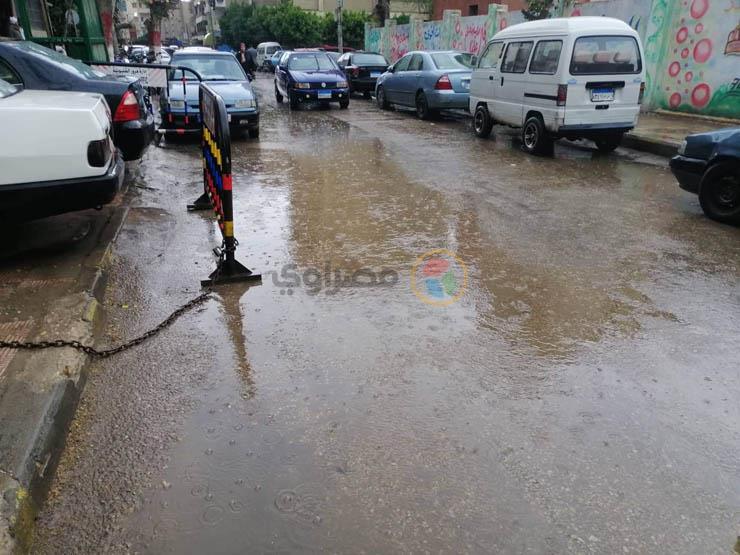 بالصور.. الأمطار تغرق شوارع القليوبية   مصراوى