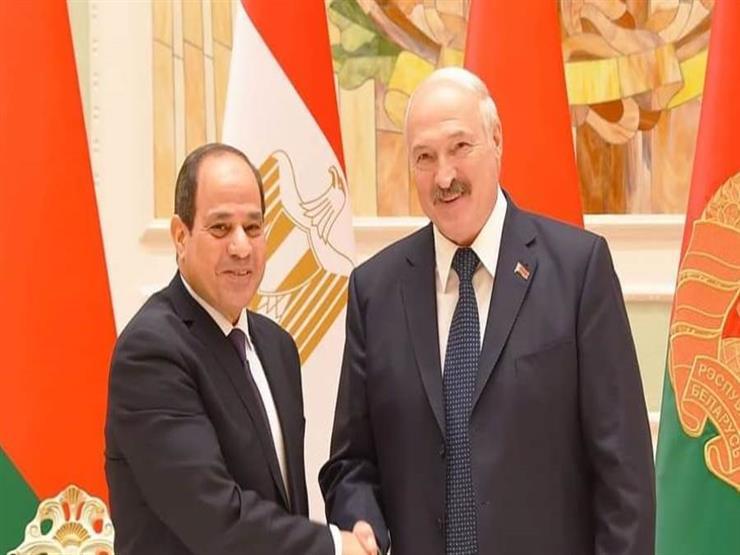 الرئاسة: مباحثات السيسي ولوكاشينكو جسدت تعزيز التعاون بين مصر وبيلاروسيا