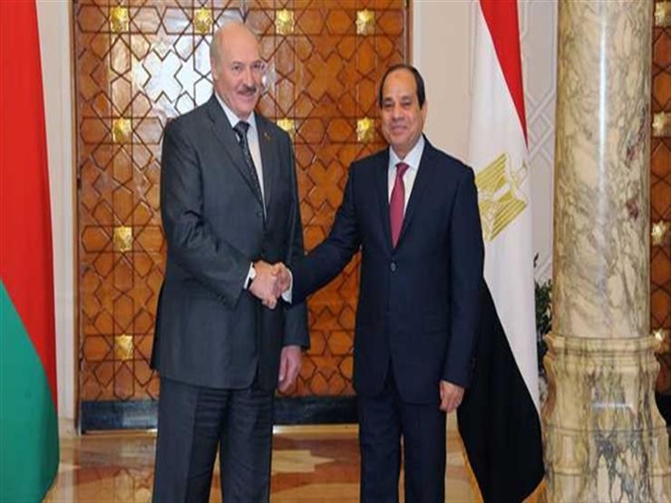 رئيس بيلاروسيا يؤكد تطلعه لتعزيز التعاون الاقتصادي والتجاري مع مصر
