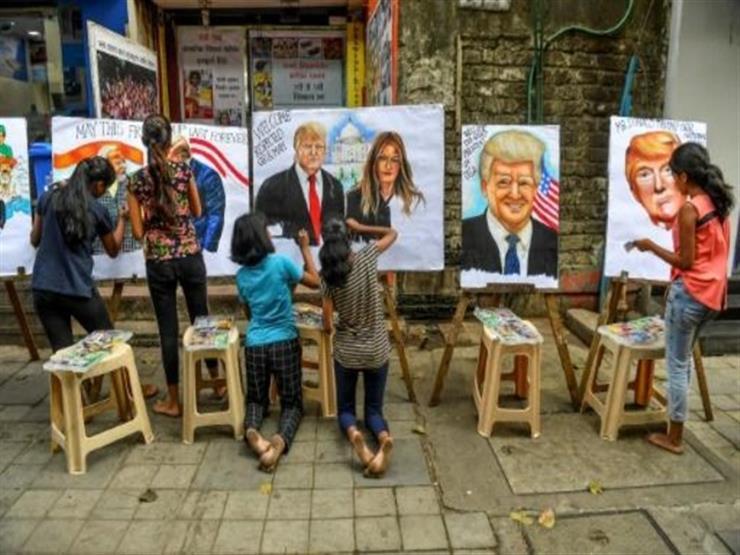 """الهند تخفف من آمال ترامب بمشاركة """"الملايين"""" في مراسم استقباله"""