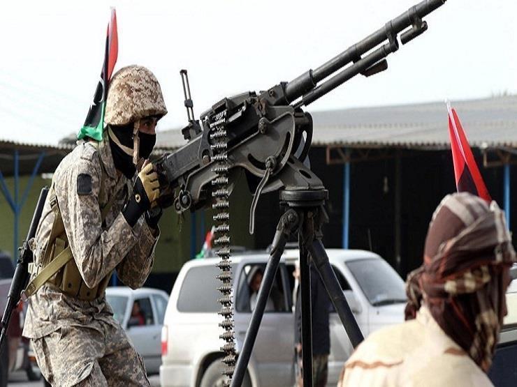 الجيش الليبي يسقط طائرة تركية مسيرة (فيديو)