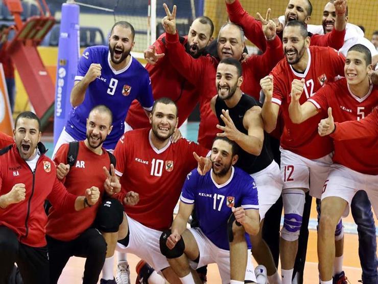 كرة طائرة.. الأهلي بطلاً للعرب للمرة السابعة على حساب الزمالك