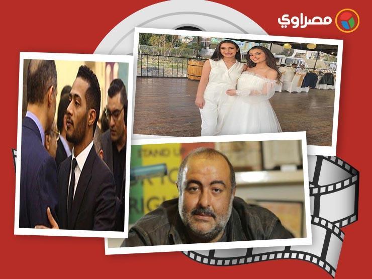 النشرة الفنية|  وعكة صحية لأحمد فلوكس ورقص ديانا كرزون والنجوم في عزاء مبارك