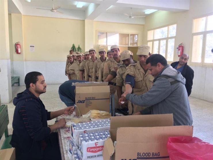لمد جسور التواصل الاجتماعي.. حملة للتبرع بالدم بمشاركة ضباط وأفراد ومجندي قطاع السجون