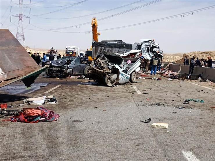 """مصدر: القبض على سائق """"تريلا"""" حادث الطريق الإقليمي المروع  (تفاصيل)"""