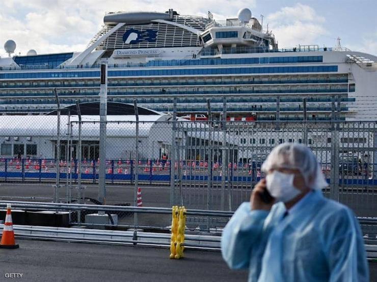 إصابة 7 من ركاب سفينة سياحية قبالة أستراليا بفيروس كورونا