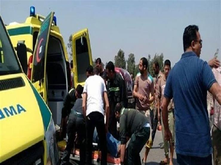 حالة وفاة و5 مصابين في حادث تصادم بالبدرشين