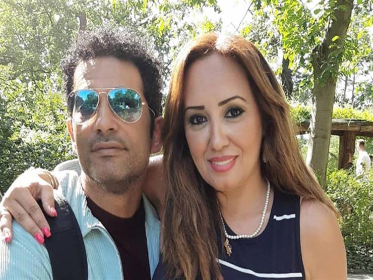 """زوجة عمرو سعد تعلق على فيديو نشره مستخدمًا """"تيك توك"""""""