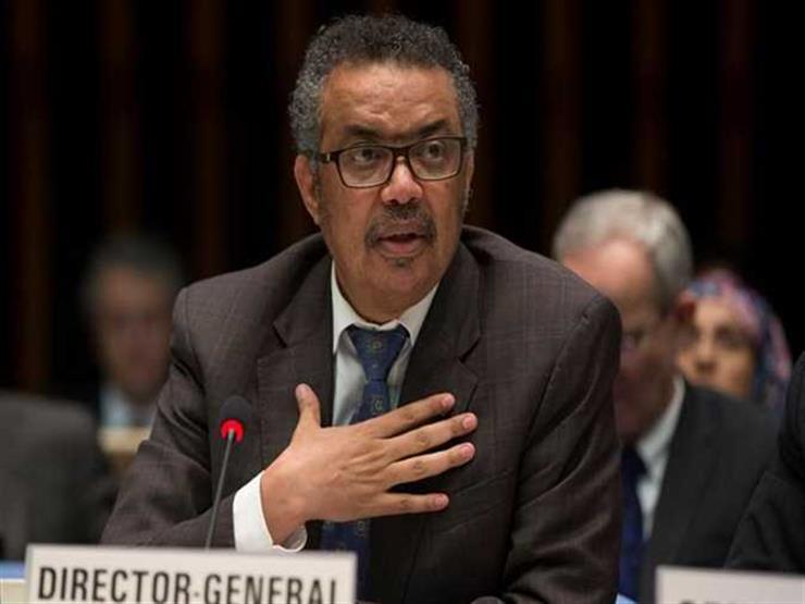 """""""عمل عظيم"""".. مدير الصحة العالمية يوجه رسالة شكر للسيسي"""
