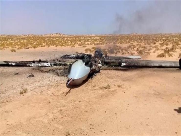 الجيش الليبي يسقط إسقاط طائرة تركية مسيرة أقلعت من مطار معيتيقة