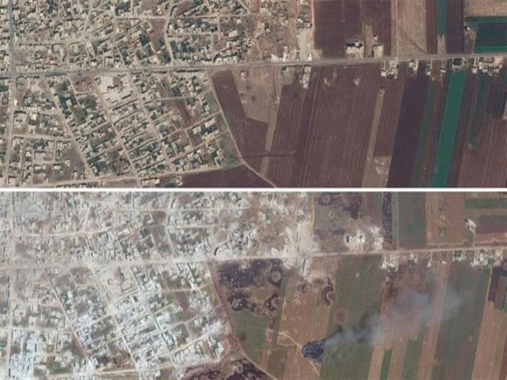 الحرب في سوريا: صور الأقمار الاصطناعية تكشف حجم الدمار في إدلب
