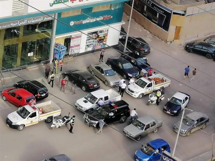 القبض على شابين صدما ضابط مرور بدراجة نارية في طنطا