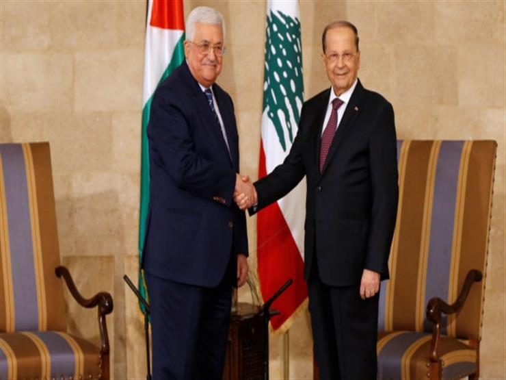 الرئيسان الفلسطيني واللبناني يبحثان المستجدات السياسية والقضايا المشتركة