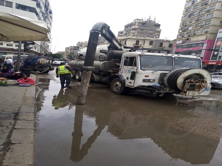 بسبب كسر مفاجئ.. انقطاع المياه عن مناطق الهرم وفيصل والمريوطية