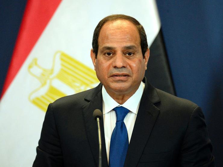 السيسي: استقرار ليبيا من محددات الأمن القومي المصري   مصراوى