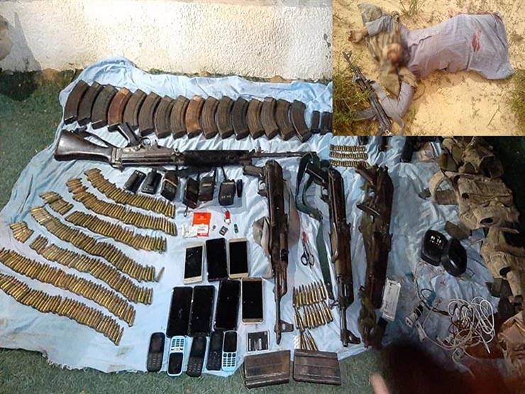 المتحدث العسكري: مقتل 7 تكفيرين واكتشاف وتفجير 14 عبوة وحزام ناسف