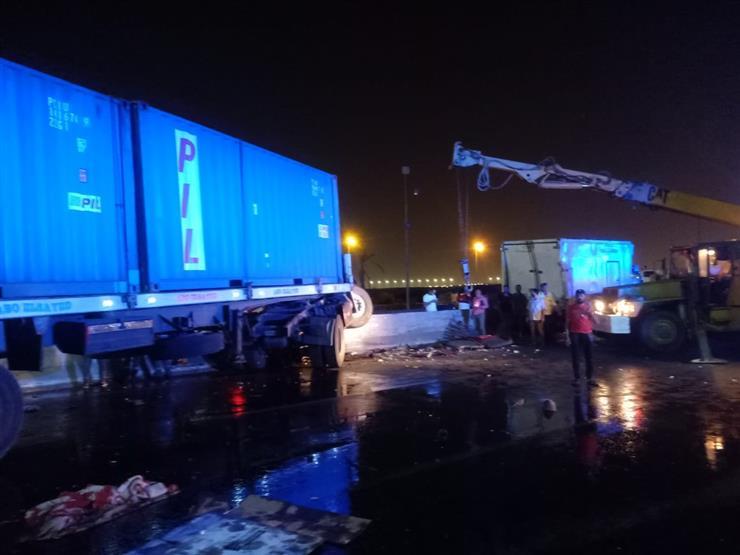 القبض على السائق المتسبب في مصرع وإصابة 9 أشخاص بتصادم 4 سيارات بمحور الشاذلي