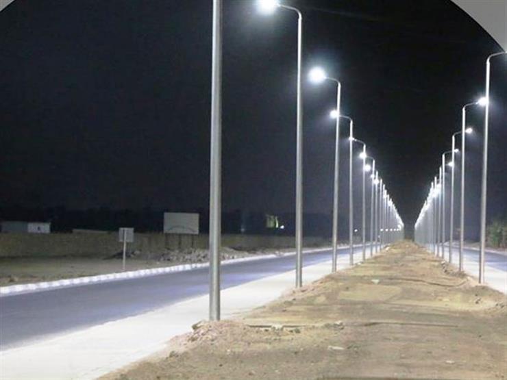 محول و 550 عمودًا لإنارة طريق نبق بشرم الشيخ   مصراوى