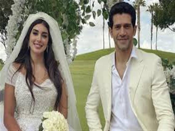 بعد زواجهما في المسلسل.. آيتن عامر تسخر من زفاف ياسمين صبري وأحمد مجدي