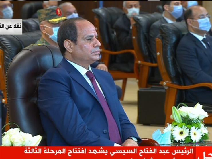 """الدولة """"صاحية"""".. السيسي: مستعدون لتوفير أماكن للملتحقين بمبادرة """"بناة مصر الرقمية"""""""