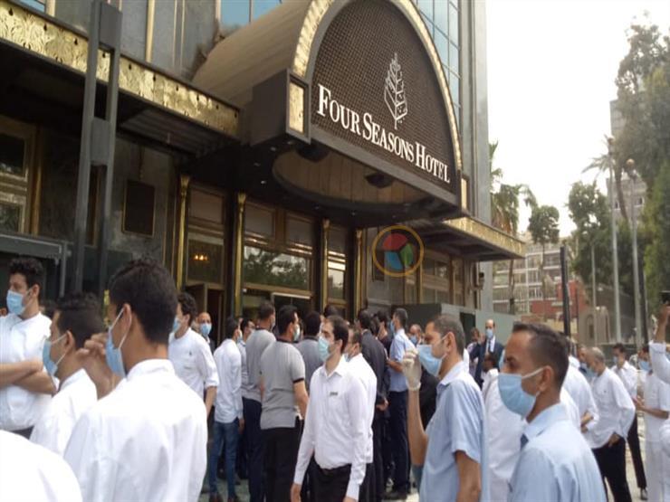 """تخفيض المرتب وإجراءات أخرى..أزمة 630 عاملاً بـ""""فورسيزون"""" بسبب كورونا"""