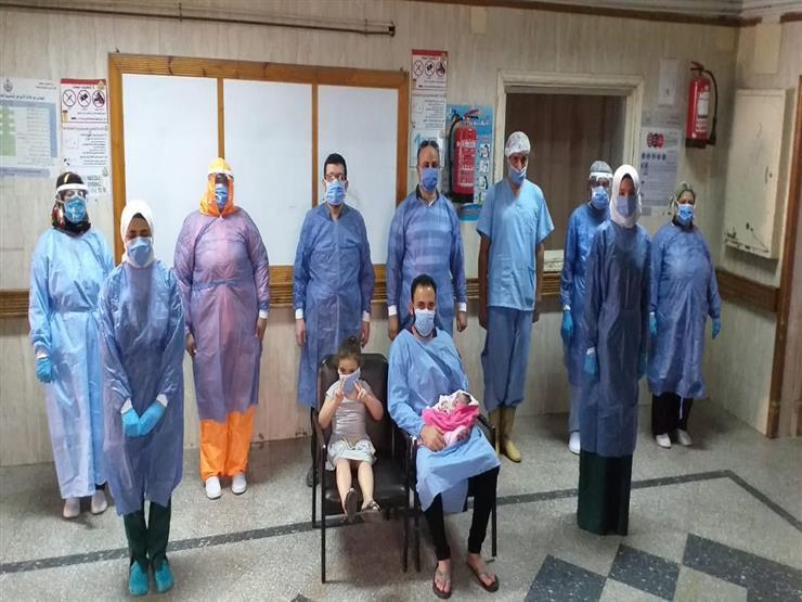 ولادة أول طفلة داخل الحجر الصحي للعائدين من الخارج بالزقازيق (صور)