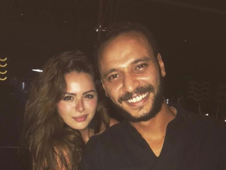 هنادي مهنا تبعث رسالة رومانسية لخطيبها أحمد خالد صالح