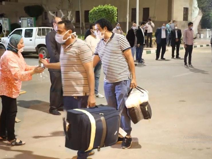 مصر لا تنسى أبناءها.. مجلس الوزراء ينشر فيديو لإعادة المصريين العالقين في الخارج