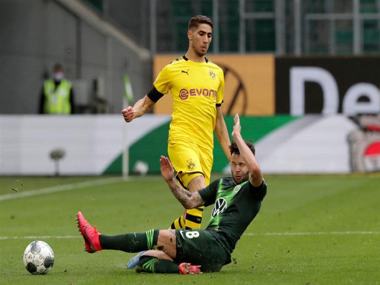 دورتموند يقهر فولفسبورج بثنائية في الدوري الألماني