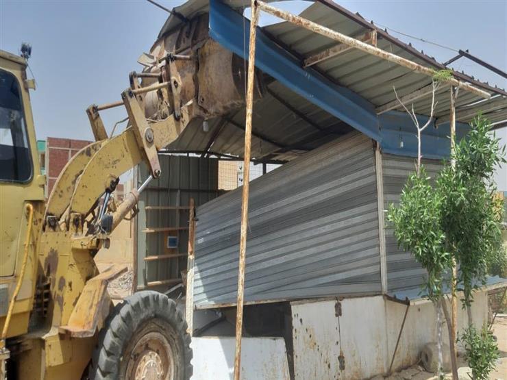 إزالة 16 حالة لتعديات على أملاك الدولة والأراضي الزراعية في المنيا