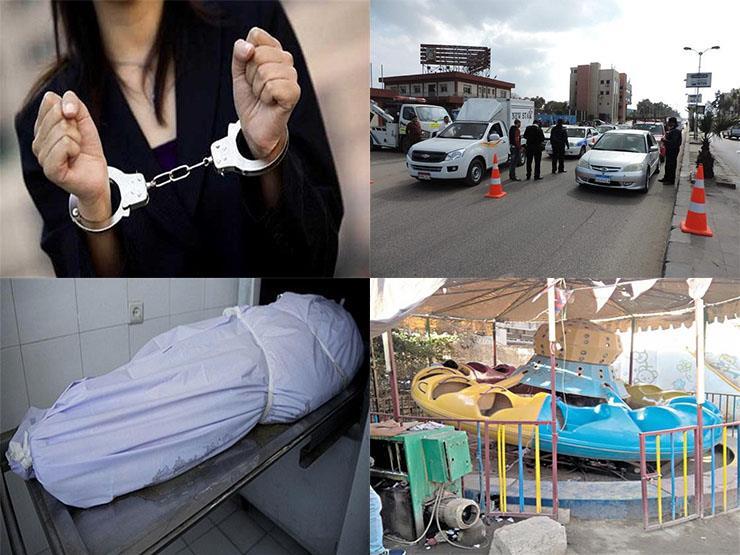 """القبض على فتاة التيك توك وجثة كوبري الحلمية"""".. نشرة الحوادث المسائية"""