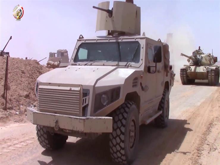 القوات المسلحة: القضاء على 19 تكفيريًا شديدي الخطورة في شمال سيناء (فيديو)