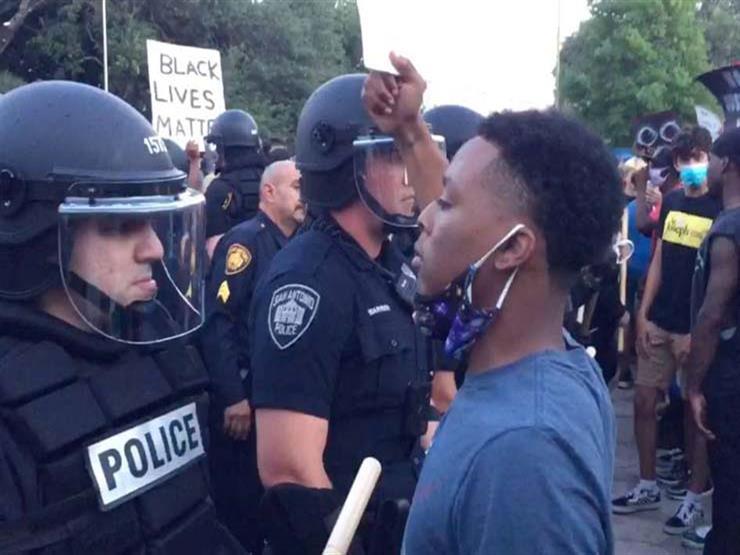 سلطات لوس انجلوس تحتجز أكثر من 400 شخص خلال احتجاجات السبت
