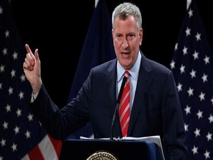 عمدة نيويورك يدعم شرطة المدينة بعد اقتحام مركبة لتجمعات متظا   مصراوى