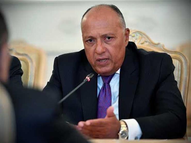 شكري يبحث هاتفيا مع نظيره المغربي آخر تطورات الملف الليبي