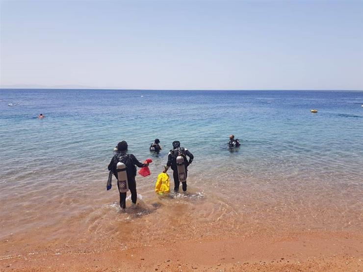 البحث عن جثة شاب في مياه البحر المتوسط بكفر الشيخ