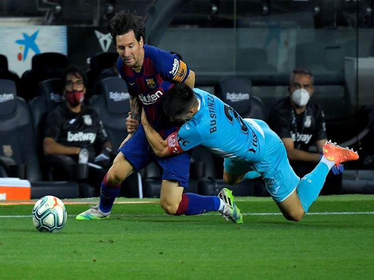 """برشلونة يهزم """"عناد"""" ليجانيس ويعزز تصدره للدوري الإسباني"""
